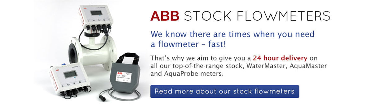 ABB Flow meters from stock